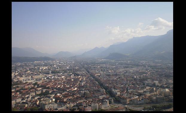 ... la découverte du panorama offert par la Bastille...