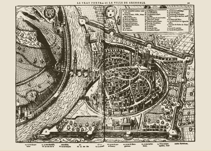 """Suivez des visites thématiques, comme """"Grenoble au Moyen-Âge"""""""