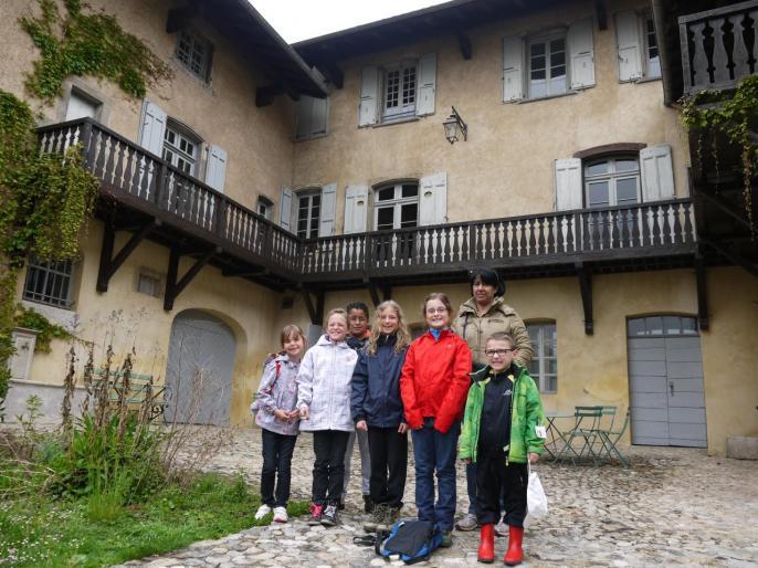 Les enfants du CHEYLAS en visite chez Hector (29/04/2013)