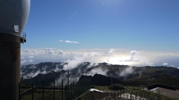 Madère - Départ du Pico do Arieiro