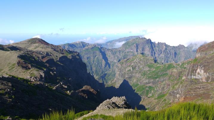 Madère - Au départ du Pico do Arieiro