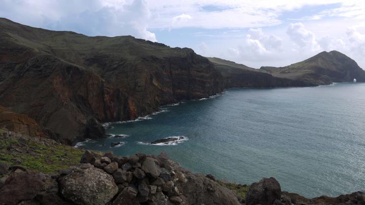 Madère - La pointe de Sao Lourenço - 1ères falaises