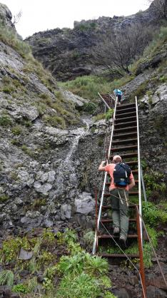 Madère - Escalier métallique