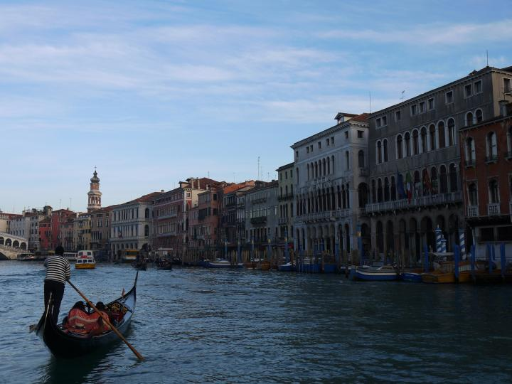 Venise - Grand Canal Rive droite