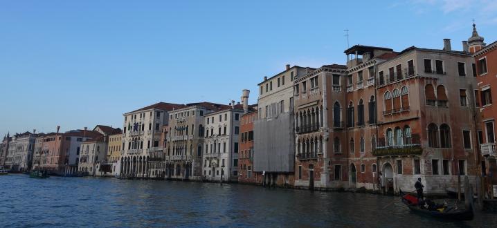 Venise - Grand canal Rive droite - Cannaregio