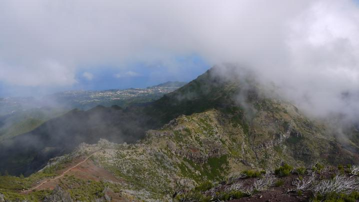 Madère - Vue du sommet du Pico Ruivo
