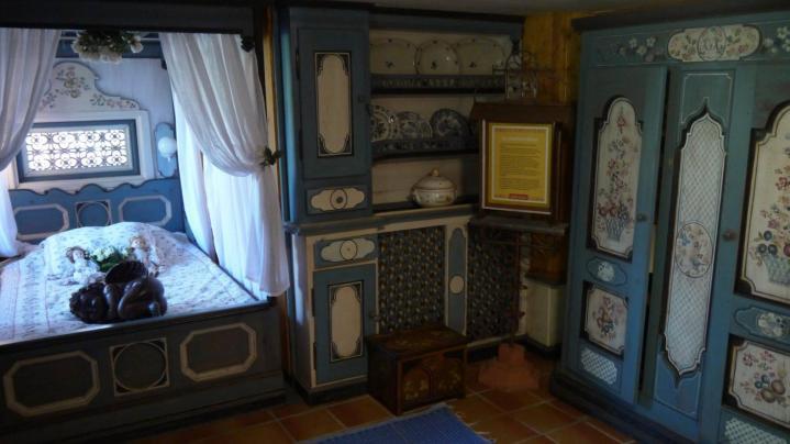 Jardins Secrets - La chambre bleue