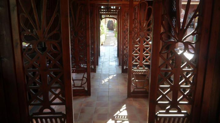 Jardins Secrets - La galerie des moucharabiehs