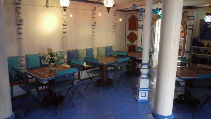 Jardins Secrets - Le salon de thé/restaurant