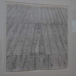 Giuseppe Penone - Gli alberi del pavimento