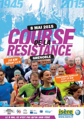 Affiche course de la resistance 2015