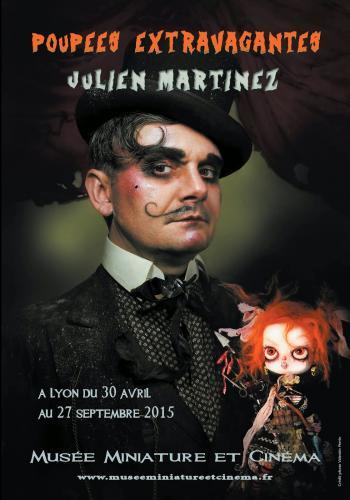 Affiche Exposition Poupees Extravagantes (Julien Martinez)