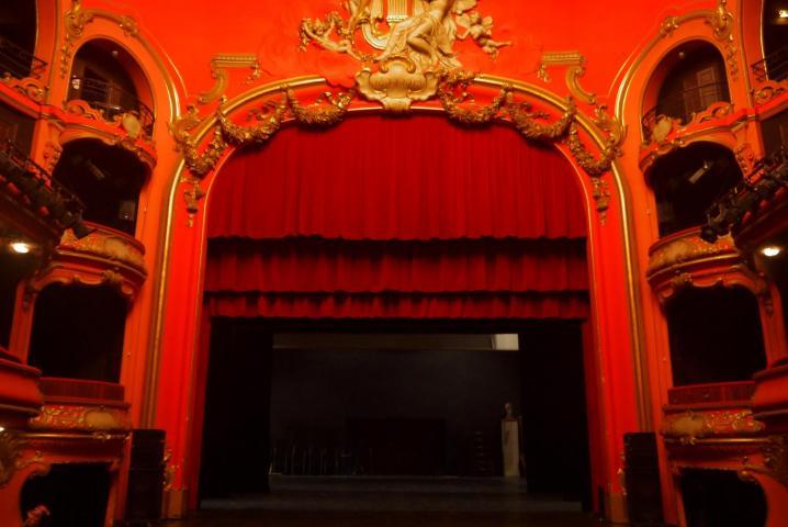 Théâtre a l'italienne du casino