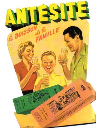 Antesite - Ancienne affiche publicitaire