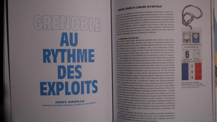 Grenoble 1968 - Le récit détaillé des exploits des sportifs de l'époque...