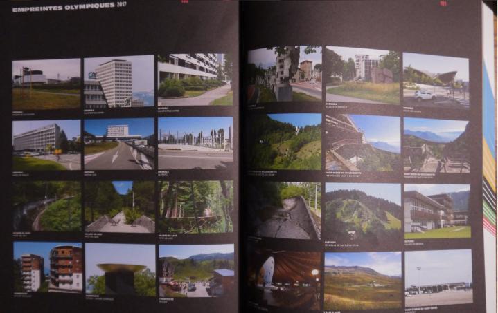 Grenoble 1968 - Des photos d'aujourd'hui également, pour montrer ce qu'il reste des JO dans le paysage de la région