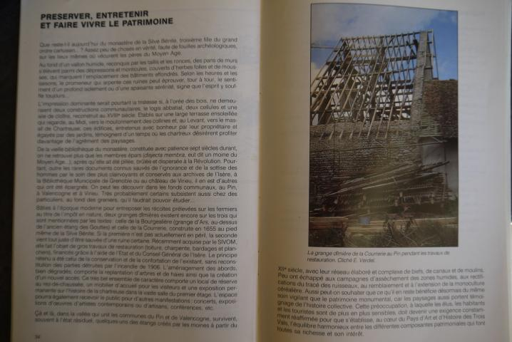 Biblio n°6 - Les mystères de la Silve bénite - Préserver, entretenir et faire vivre son patrimoine