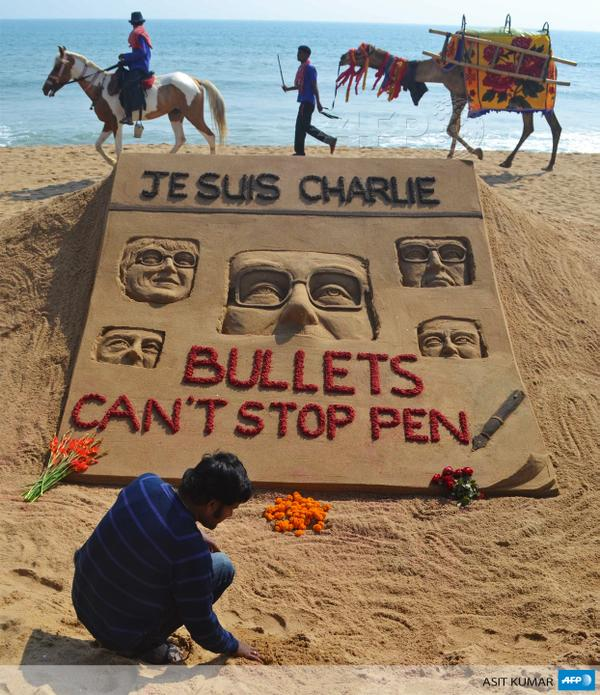 Blog cartoon je suis charlie 16 inde