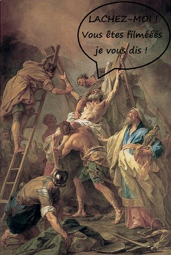 Blog vu a la tv restout la crucifixion de saint andre avec texte 1