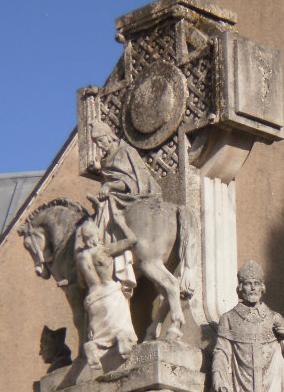 Calcaire de la charité de Saint Martin à Tours (petit clin d'oeil à mes GIN'zzzz... photo de notre formation de guide!)