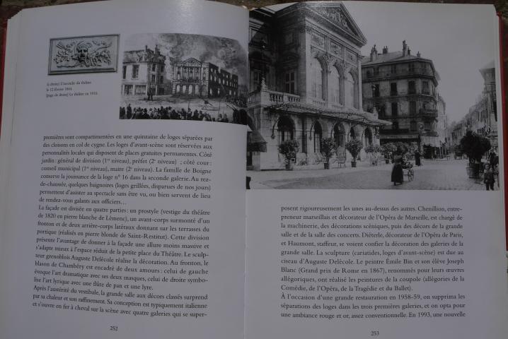 Chambery, lecture d'une ville - Le théâtre