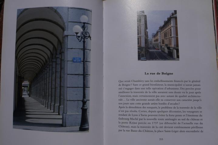 Chambery, lecture d'une ville - Les aménagements du XIXeme siècle