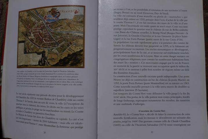 Chambery, lecture d'une ville - Les grandes étapes illustrées de plans