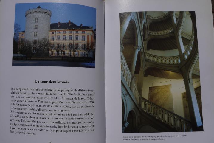 Chambery, lecture d une ville - Visite virtuelle du Château des Ducs de Savoie