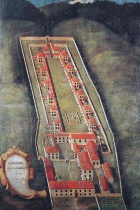 Chartreuse de la Sylve Bénite vers 1750