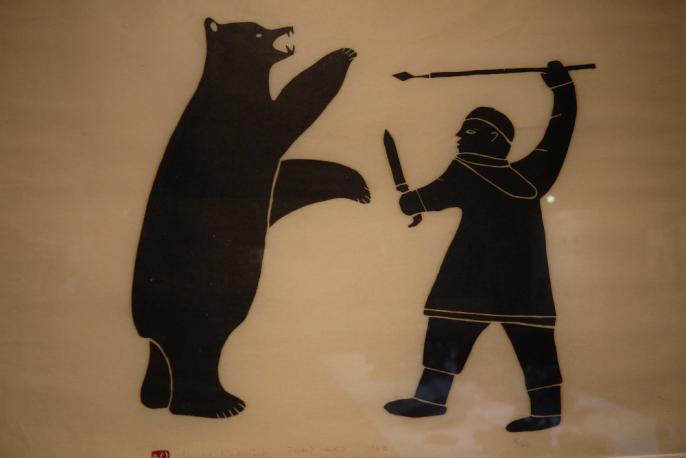 Chasseur à l'ours (Henry Napartuk, 1963)