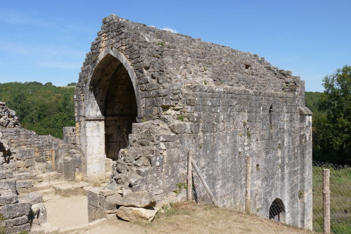 Chateau de Commarque - Chapelle vue du sud