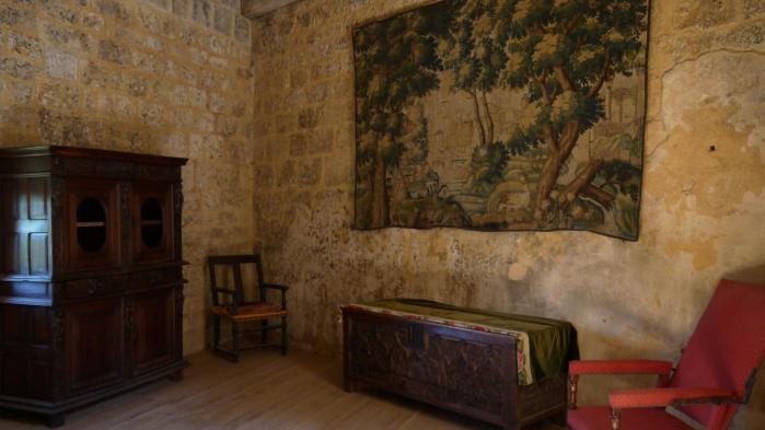 Chateau de Commarque - Interieur mobilier