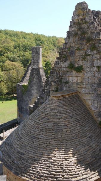 Chateau de Commarque - Toit du four