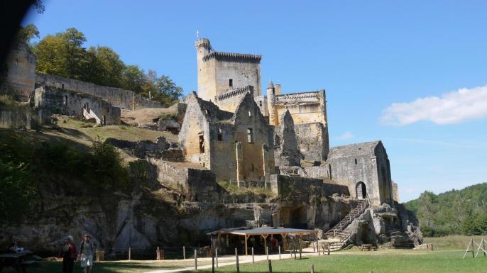 Chateau de Commarque - Vue générale