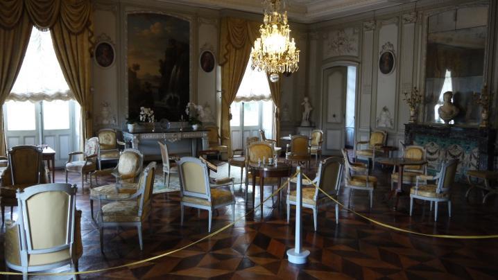 Château de Longpra - Grand salon d'été