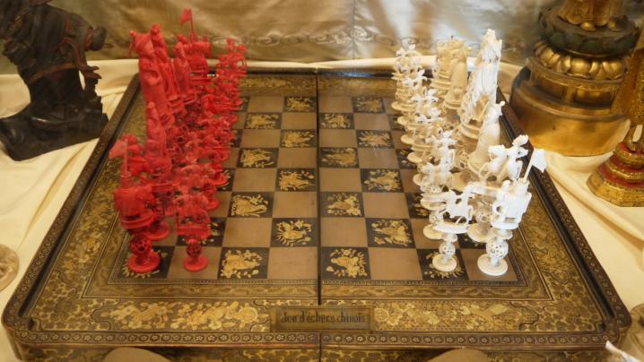 Chateau de Montrottier - Collections de Léon Marès - Jeu d'échecs chinois