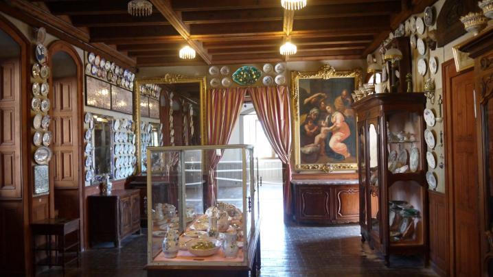 Chateau de Montrottier - Collections de Léon Marès (Logis des comtes)
