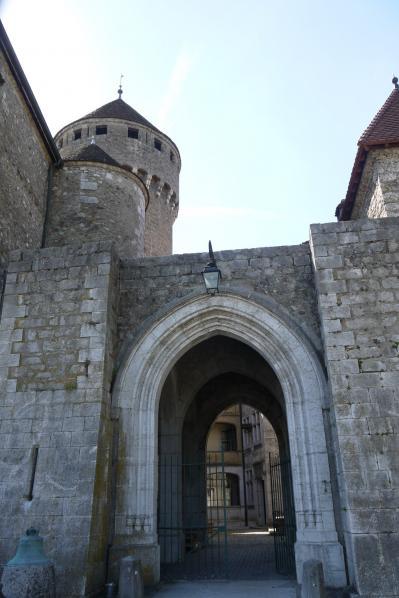 Chateau de Montrottier - Entree