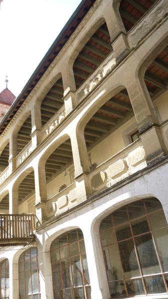Chateau de Montrottier - Galeries du logis des comtes