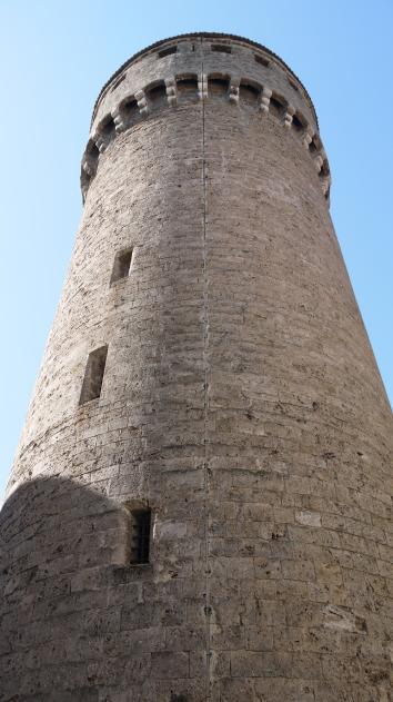 Chateau de Montrottier - Le donjon
