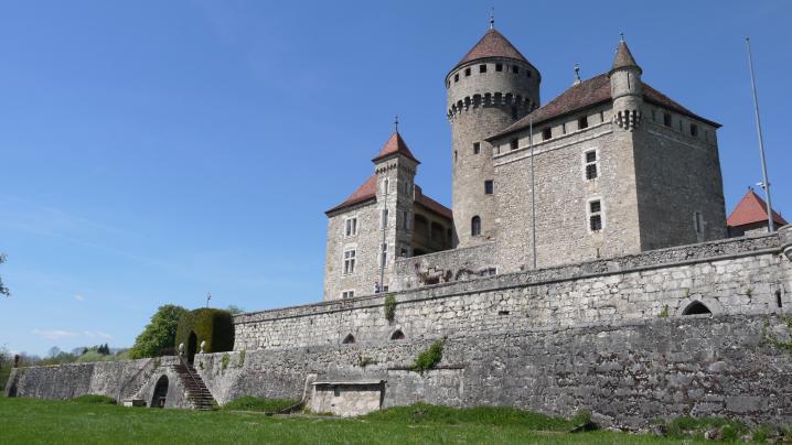 Chateau de Montrottier - Terrasses sud