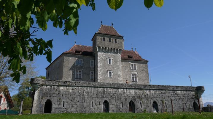 Chateau de Montrottier - Tour de Rochette et terrasses ouest
