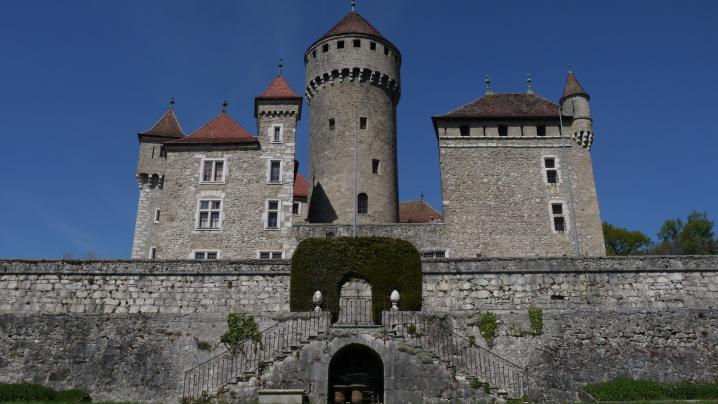 Château de Montrottier - Vue des jardins