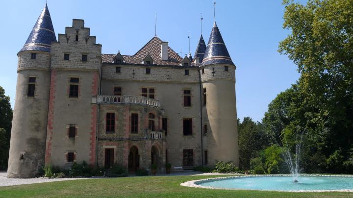Chateau de Pupetieres - Façade Est