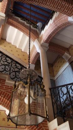 Chateau de Pupetieres - Grand escalier