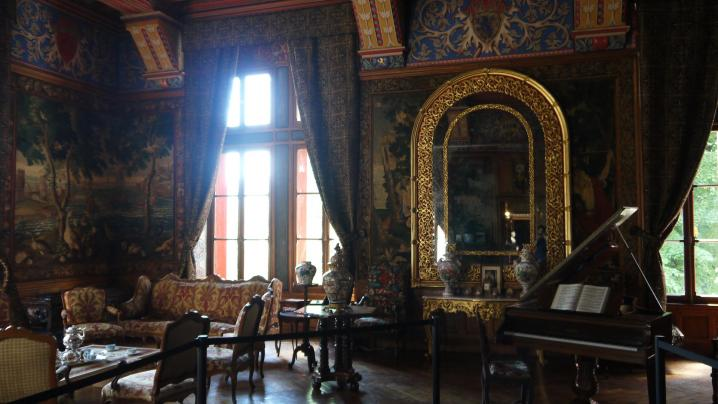 Chateau de Pupetieres - Grand Salon