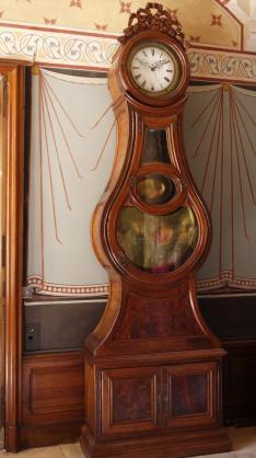 Chateau de Pupetieres - Grande horloge