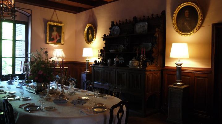 Chateau de Pupetieres - Salle à manger