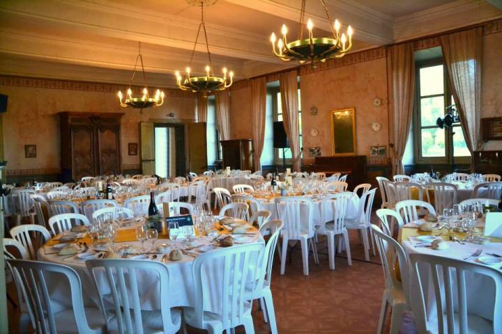 Chateau du passage grande salle de reception