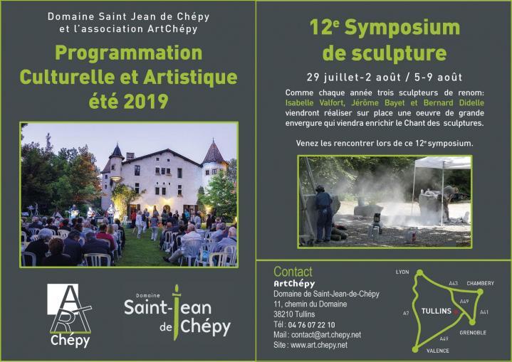 Domaine Saint Jean de Chépy - Programme Symposium 2019